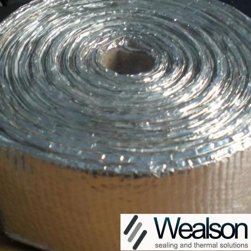 Dust free asbestos tape with aluminium wealson china