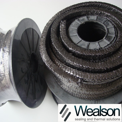 Glass Fiber Packing With Graphite Impregnation