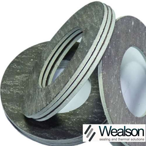 Compressed asbestos fiber gasket wealson packing
