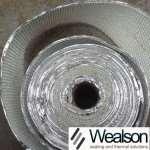 Glassfiber Tape With Aluminium